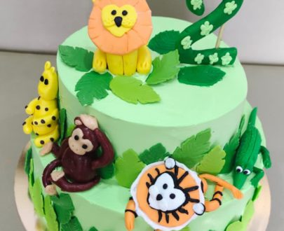 Animal Safari Theme Cake Designs, Images, Price Near Me