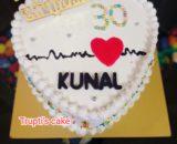 6 Month's Birthday Cake Designs, Images, Price Near Me