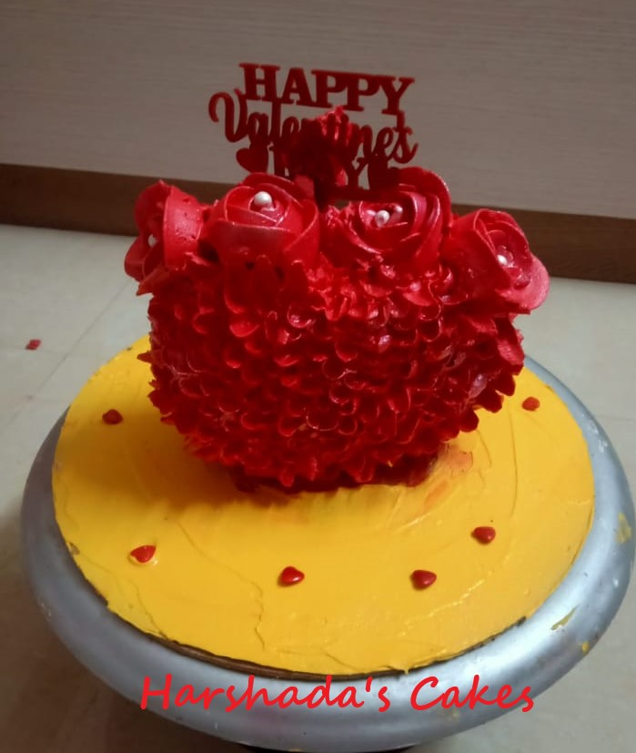 Heart / Valentine Day Cakes Designs, Images, Price Near Me